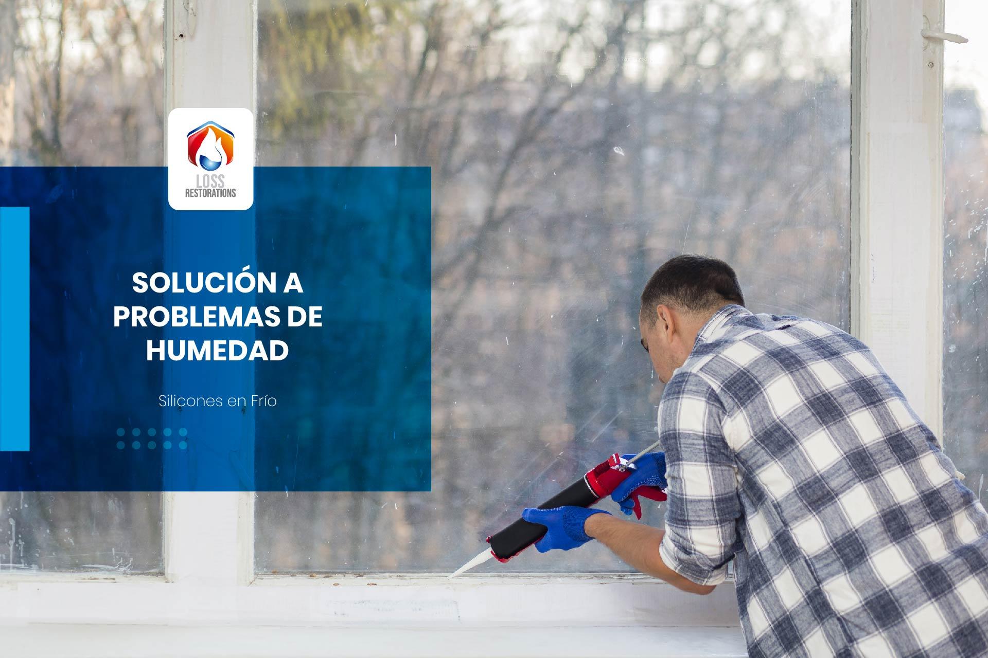 Soluciones a los problemas de humedad en casas y comercios