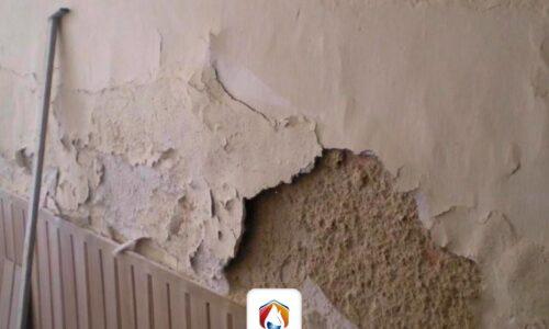 Cómo reparar paredes a causa de la humedad