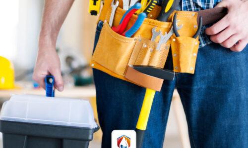 instrumentos para reparar pisos con humedad