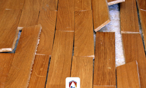 How to avoid humidity in floors