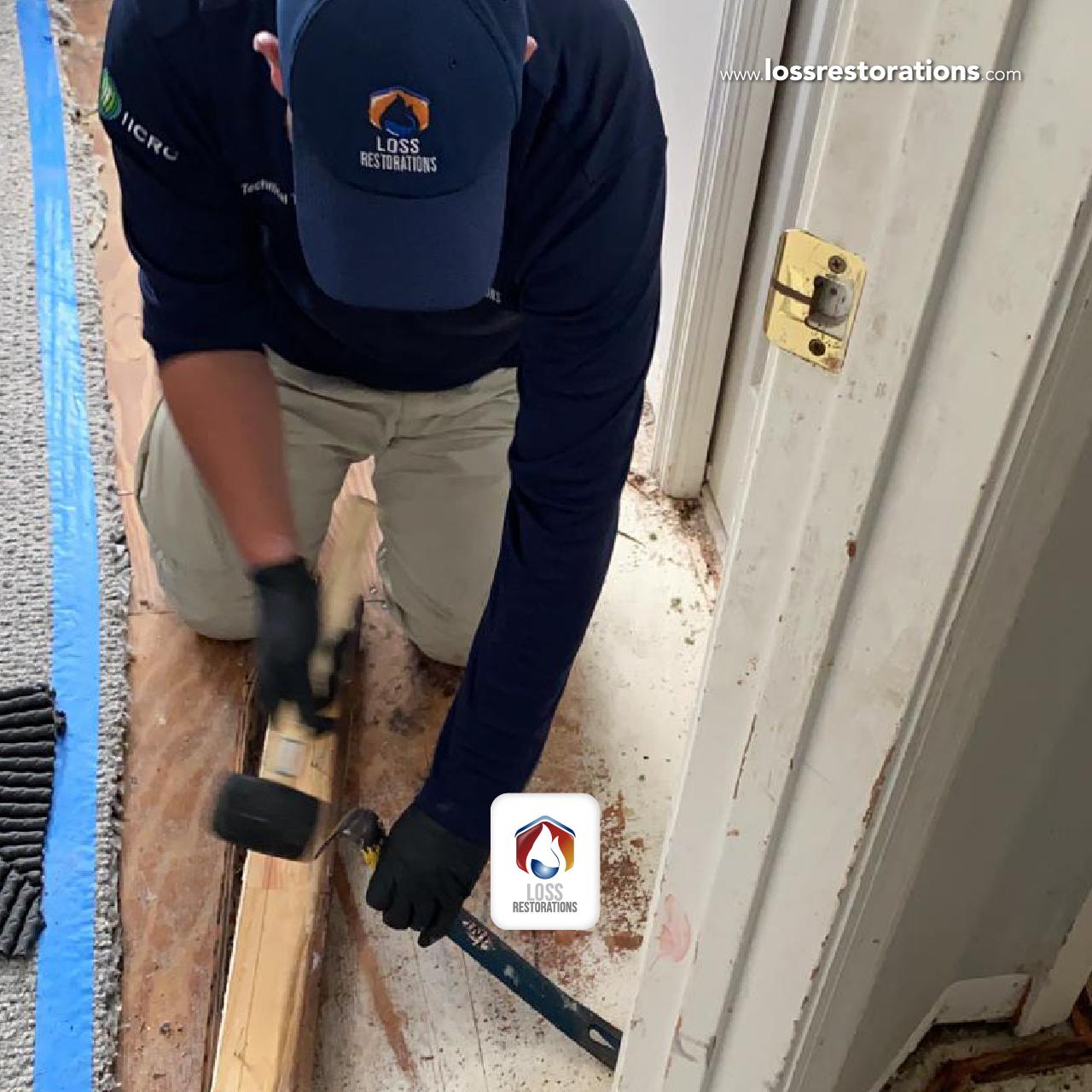 The best way to repair damp floors